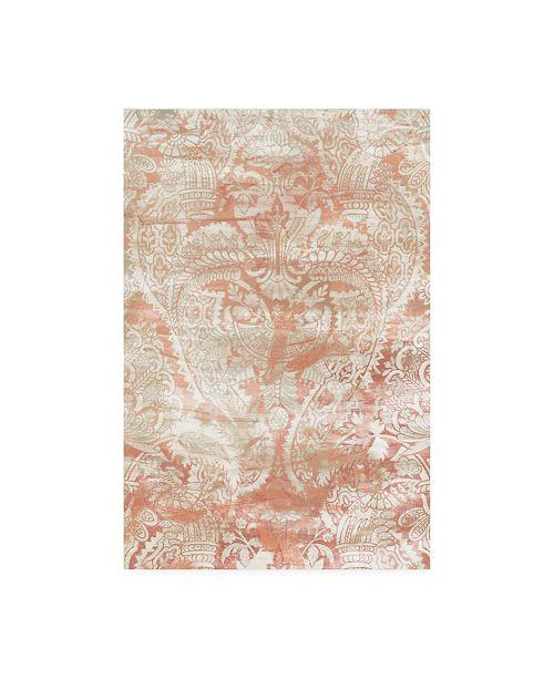 "Trademark Global June Erica Vess Garnet Weft I Canvas Art - 20"" x 25"""