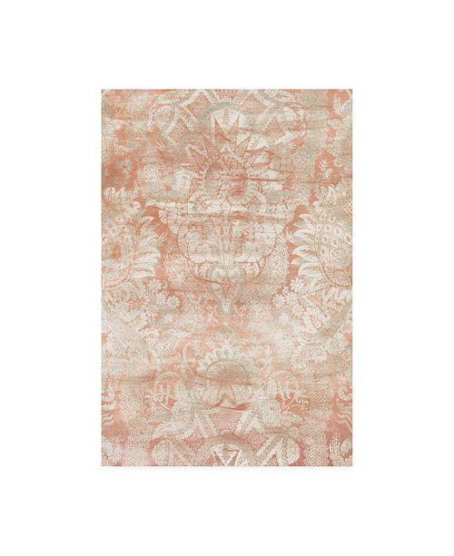 """Trademark Global June Erica Vess Garnet Weft III Canvas Art - 37"""" x 49"""""""
