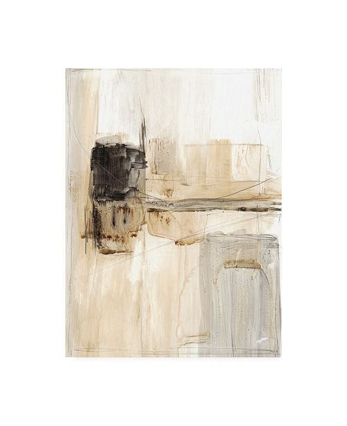"Trademark Global Ethan Harper Electrical Grid I Canvas Art - 37"" x 49"""