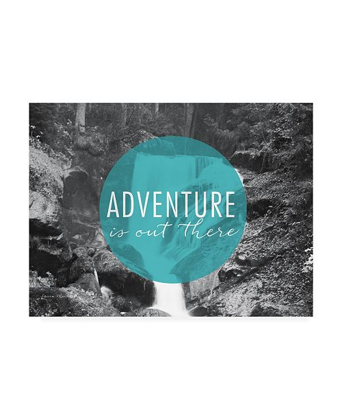 """Trademark Global Laura Marshall Adventure is Out There V2 Canvas Art - 37"""" x 49"""""""