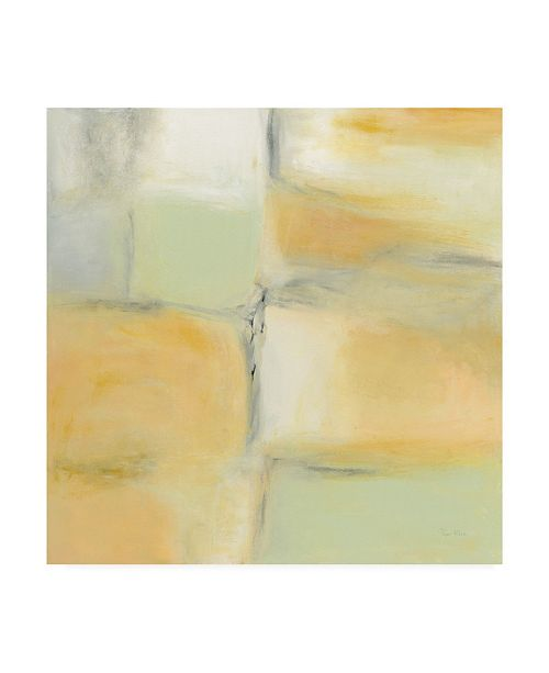 """Trademark Global Piper Rhue Gray Stone and Gold Canvas Art - 15"""" x 20"""""""