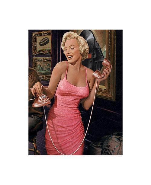 "Trademark Global Chris Consani Marilyns Call II Canvas Art - 20"" x 25"""