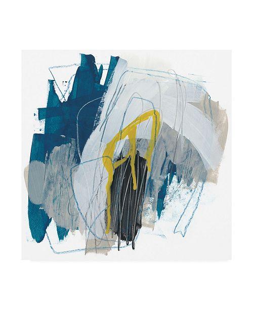 "Trademark Global June Erica Vess Symphony in Riffs I Canvas Art - 27"" x 33"""