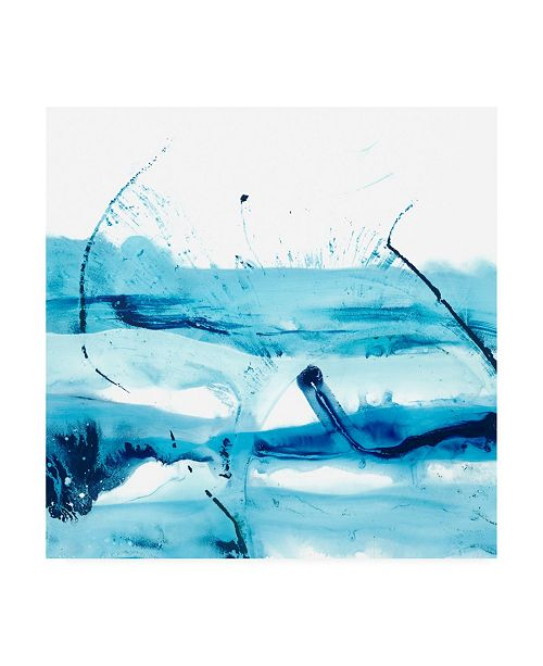 "Trademark Global Ethan Harper Blue Currents III Canvas Art - 15"" x 20"""