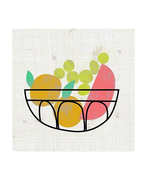 "Trademark Global Chariklia Zarris Fruitilicious IV Canvas Art - 27"" x 33"""