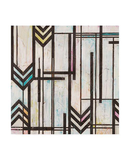 "Trademark Global June Erica Vess Deco Abstraction I Canvas Art - 15"" x 20"""