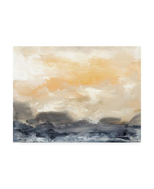 "Trademark Global Sharon Gordon Bay Wave II Canvas Art - 37"" x 49"""