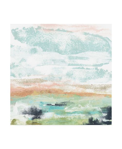 "Trademark Global June Erica Vess Mesa Vista II Canvas Art - 27"" x 33"""