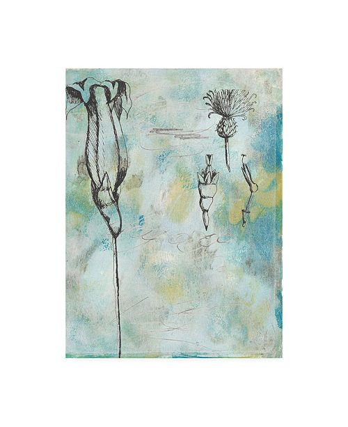 "Trademark Global Naomi Mccavitt Botanical Abstract II Canvas Art - 37"" x 49"""