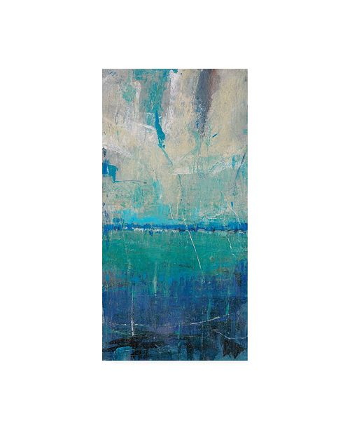 "Trademark Global Tim Otoole Blue Movement II Canvas Art - 20"" x 25"""