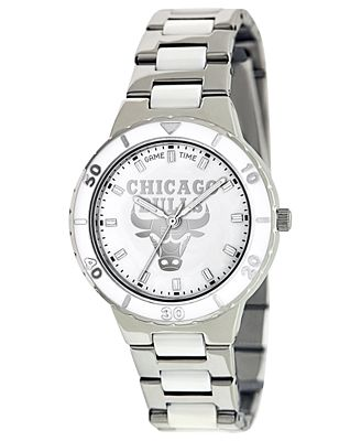 Game Time Women's Chicago Bulls Pearl Series Watch