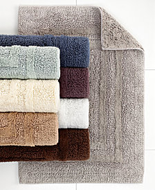 Hotel Collection Cotton Reversible Bath Rugs, 100% Cotton, Created for Macy's