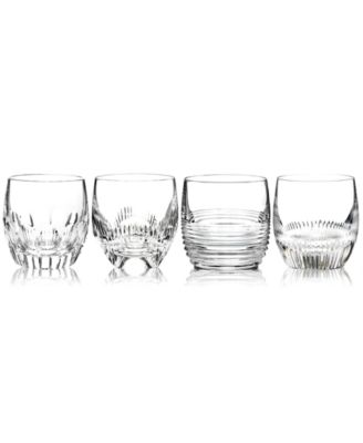 Barware, Mixology Clear Double Old Fashioned Glasses, Set of 4
