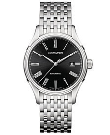 Hamilton Men's Swiss Automatic Valiant Stainless Steel Bracelet Watch 40mm H39515134