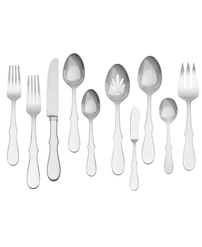 Vera Wang Wedgwood Flatware 18/10, Silhouette 45 Pc Set, Service for 8