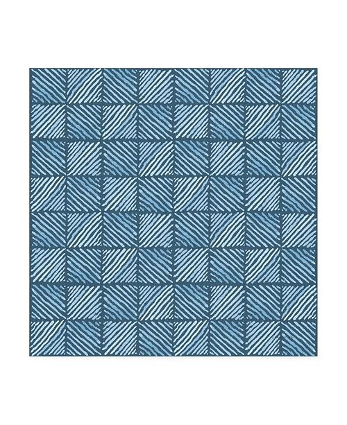 "Trademark Global Danhui Nai Floursack Nautical Pattern VID Canvas Art - 19.5"" x 26"""