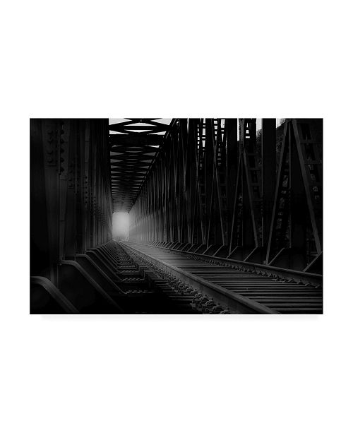 "Trademark Global Olavo Azevedo Empty Bridge Canvas Art - 19.5"" x 26"""