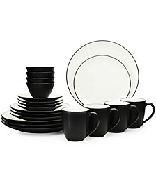 Colorwave 20-Pc. Dinnerware Set, Service for 4