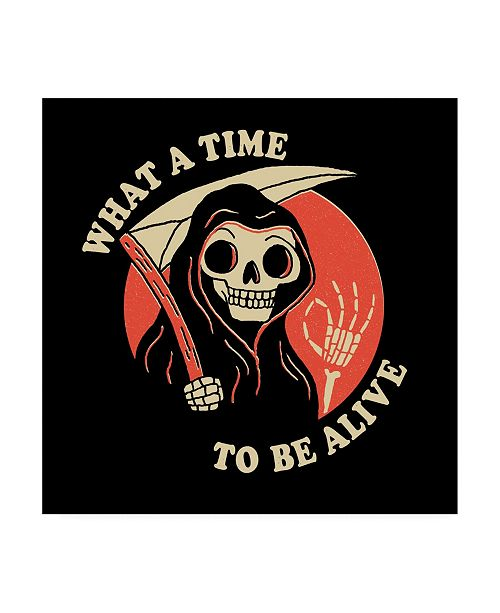 """Trademark Global Michael Buxton What a Time to be Alive Canvas Art - 19.5"""" x 26"""""""