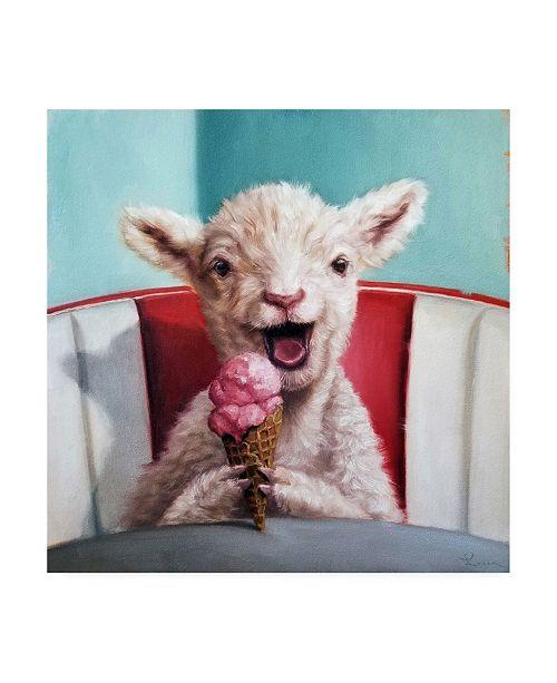 "Trademark Global Lucia Heffernan Kiddie Cone Canvas Art - 15.5"" x 21"""