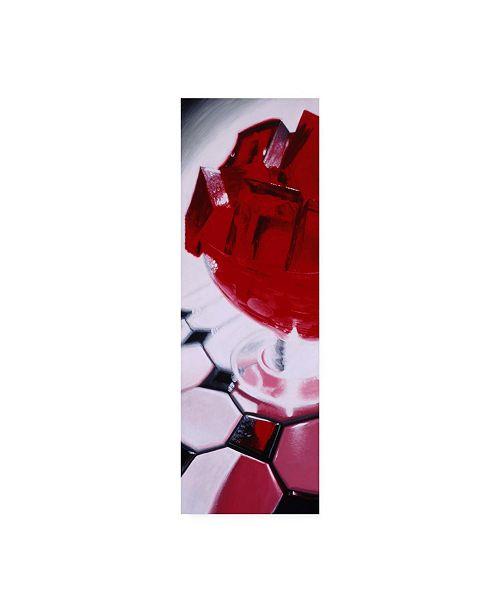 """Trademark Global Roderick Stevens Red Gellow Canvas Art - 27"""" x 33.5"""""""
