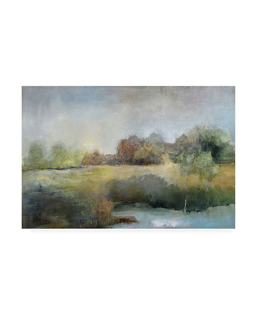 """Trademark Global J Austin Jenning A Chill in the Air Canvas Art - 19.5"""" x 26"""""""
