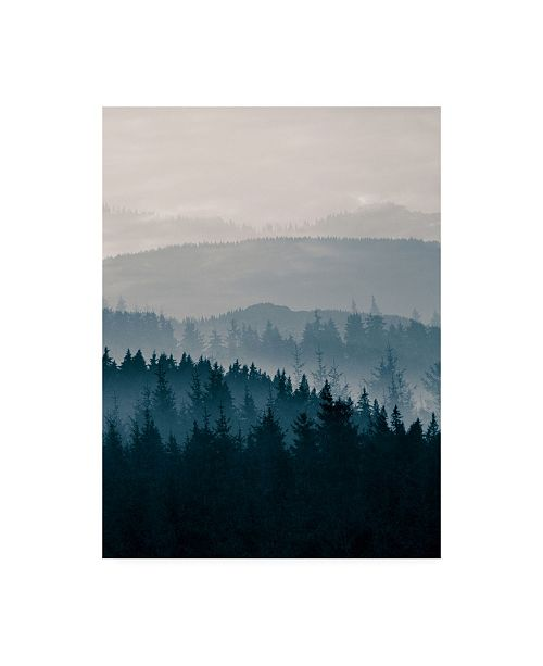 "Trademark Global PhotoINC Studio Blue Mountains II Canvas Art - 27"" x 33.5"""