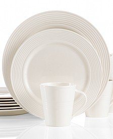 Dinnerware, Tin Can Alley Seven Degree 12 Piece Set, Service for 4