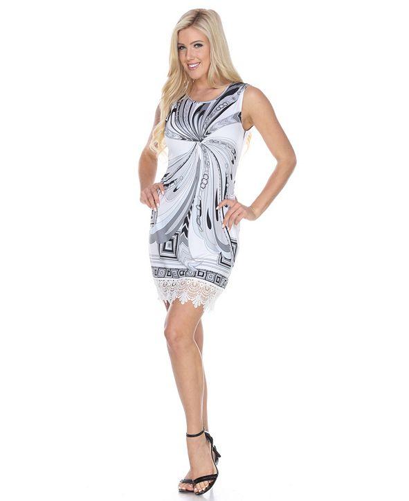 White Mark Women's Quinn Dress