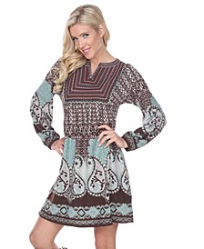 Women's Phebe Embroidered Sweater Dress