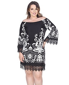 Women's Plus Size Uniss Dress