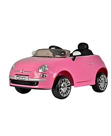Best Ride On Cars Officially Licensed Fiat 500 12 Volt Ride On Car