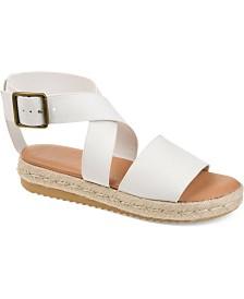 Journee Collection Women's Trinity Sandals