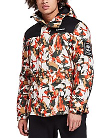Men's Camouflage Puffer Jacket