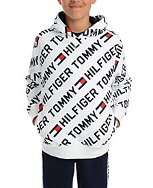 Big Boys Jayden Fleece Logo Hoodie