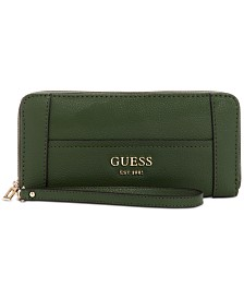 GUESS Shawna Zip-Around Wristlet