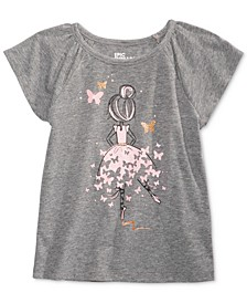Toddler Girls Ballerina T-Shirt, Created for Macy's