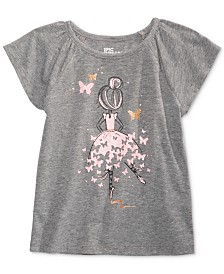 Epic Threads Little Girls Ballerina T-Shirt, Created for Macy's
