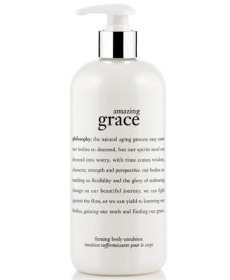amazing grace body firming emulsion, 16 oz.
