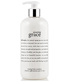 philosophy amazing grace body firming emulsion, 60 oz.