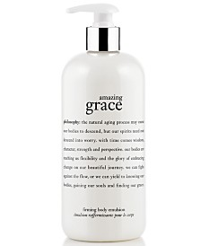 philosophy amazing grace body firming emulsion, 16 oz.