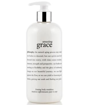 philosophy amazing grace body firming emulsion, 16 oz.