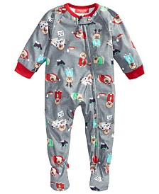 Matching Family Pajamas Baby Happy Pawlidays Pajamas, Created for Macy's