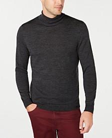 Men's Merino Wool Blend Turtleneck Sweater, Created for Macy's