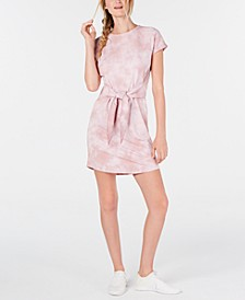 Printed Tie-Front T-Shirt Dress, Created for Macy's