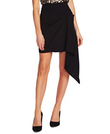 Vince Camuto Handkerchief Mini Skirt
