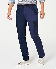 Men's Blocked Cargo Pants, Created for Macy's