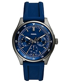 Men's Belmar Blue Silicone Strap Watch 44mm