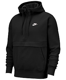 Nike Men's Club Fleece Colorblocked Half-Zip Hoodie