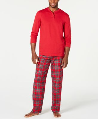 Matching Men's Mix It Brinkley Plaid Pajama Set, Created For Macy's
